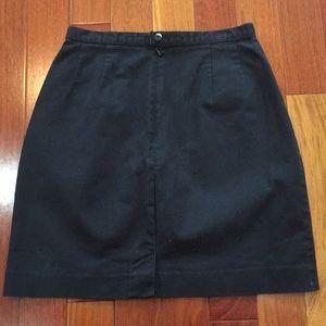 Lands' End Black Women's Skirt